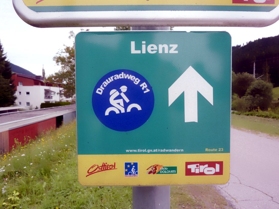 the road to Lienz