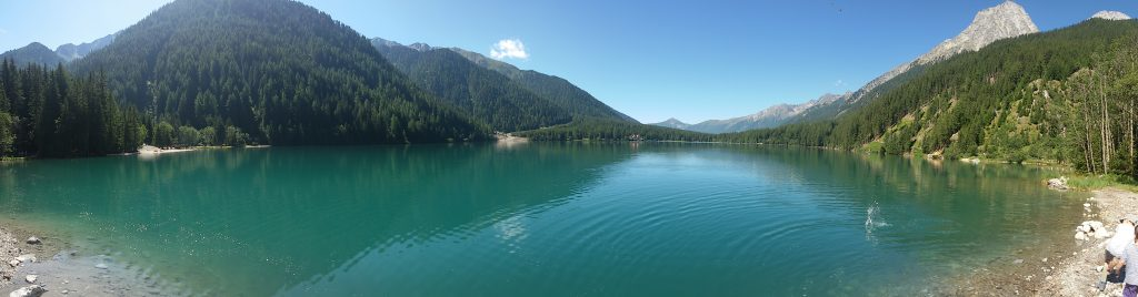 Lake Anterselva from north