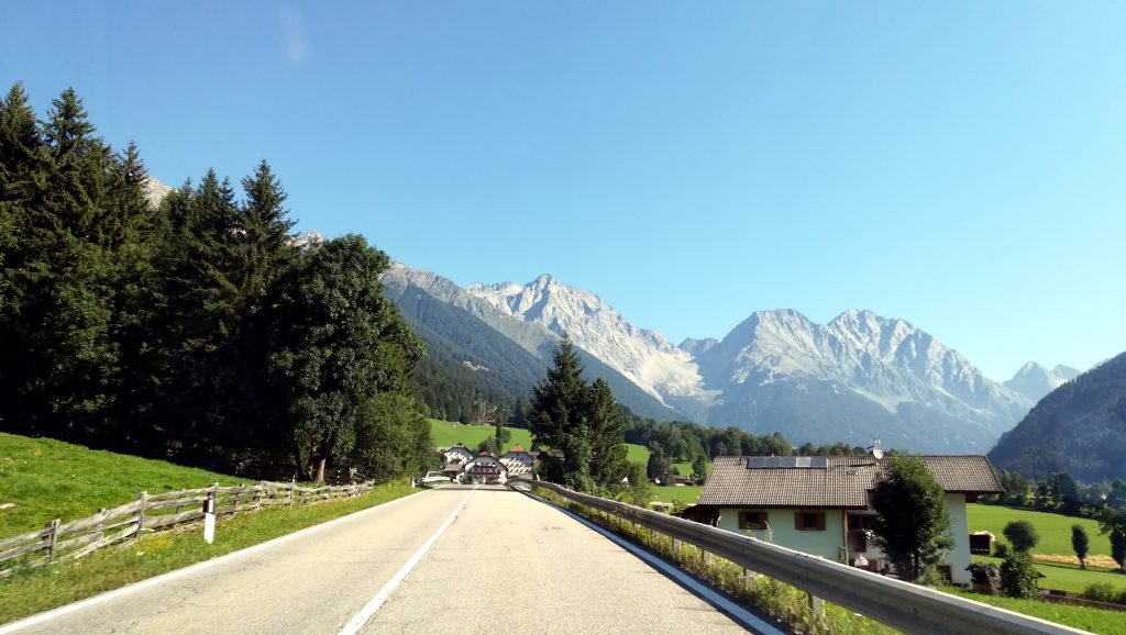 The road to Lake Anterselva