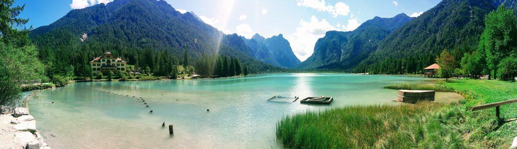 Walk to Lake Dobbiaco