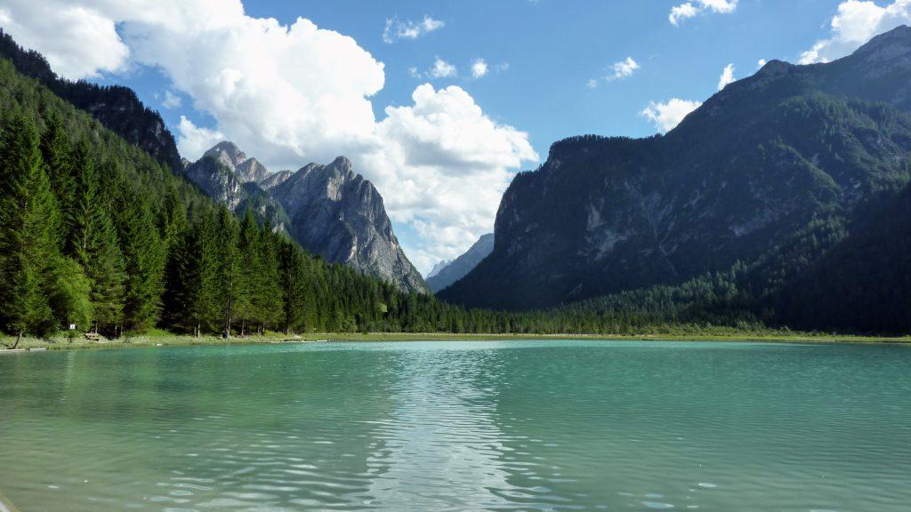 The lake of Dobbiaco